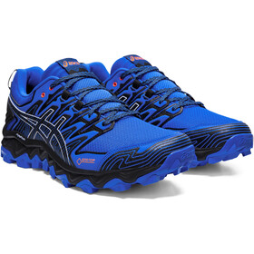 asics Gel-FujiTrabuco 7 G-TX Buty Mężczyźni, electric blue/black